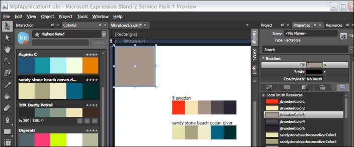 Dotblog Donnez Des Couleurs à Blend Et Design Intégration De