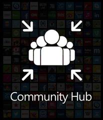 logo community hub