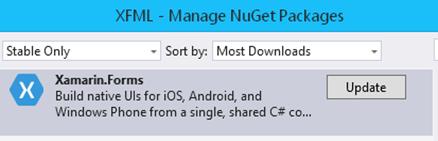 XFML-CreateProject3-NugetUpdate